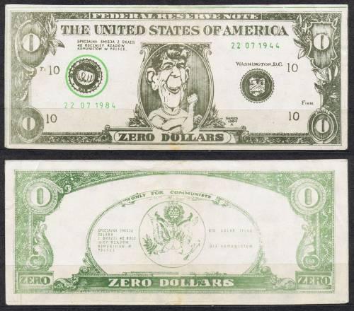 Dolar tylko dla komunistów